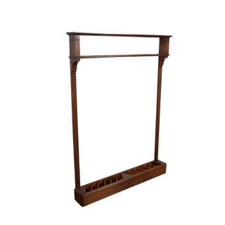 19th Century Pool Cue Rack For Sale