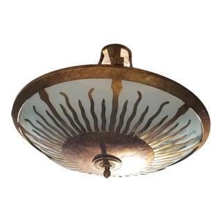 Paul Ferrante Sun Pendant Light For Sale
