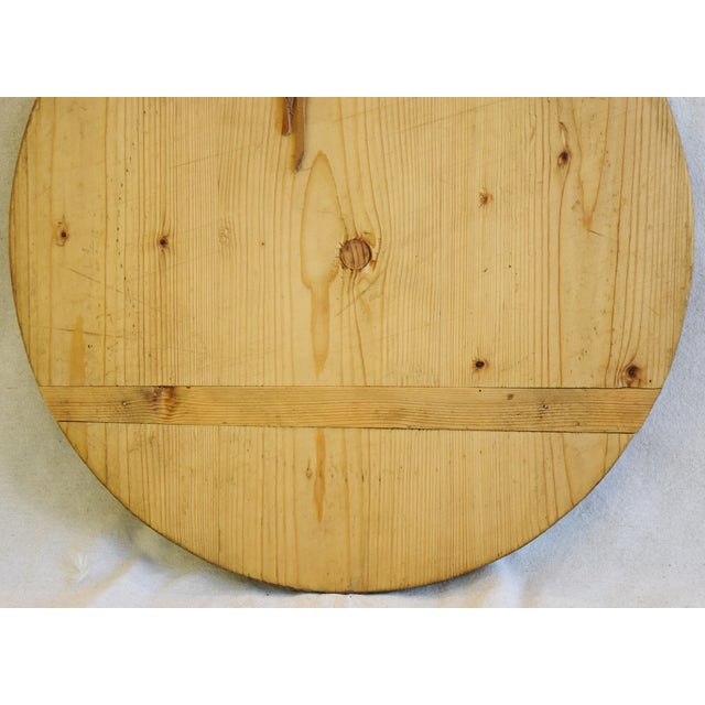 French Country Vintage European Charcuterie Cheese Meat Bread Display Board For Sale - Image 3 of 7