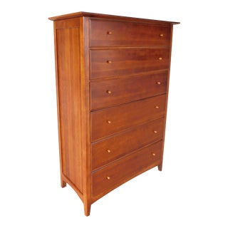 Thomasville Impressions Arts & Crafts Mission Style Tall Chest For Sale
