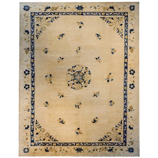 Late 19th Century Chinese Peking Rug For Sale