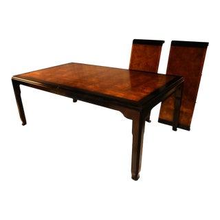 Raymond Sobota Century Chin Hua Burl Dining Table