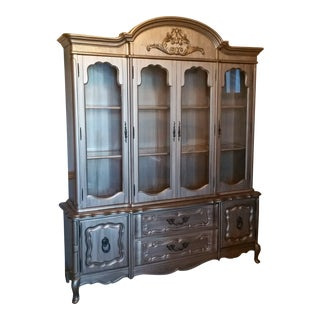 Bassett Furniture China Cabinet For Sale