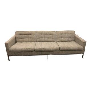 Knoll Vintage Original 1960's Florence Knoll Sofa For Sale