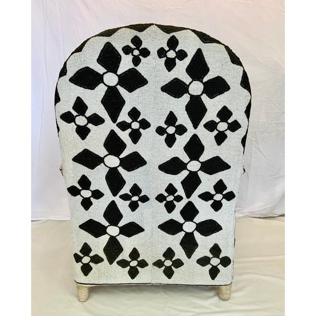African Beaded Nobility Chairs Handcrafted by Yoruba Artisans - a Pair For Sale - Image 4 of 13
