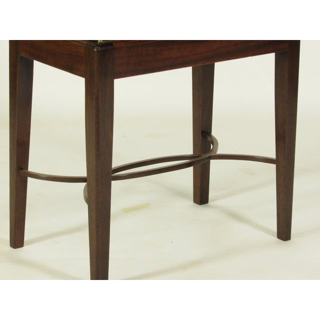 19th Century Regency Lap Desk on Stand For Sale - Image 5 of 11