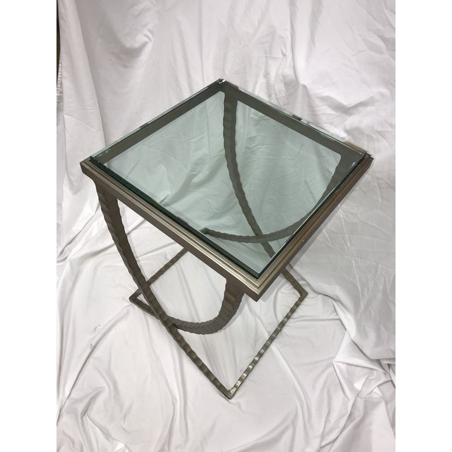 Contemporary Charleston Forge Talmadge Drink Table For Sale - Image 3 of 6