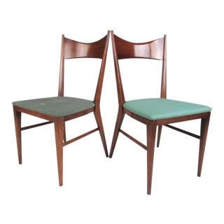 Pair Mid-Century Paul McCobb Dining Chairs For Sale