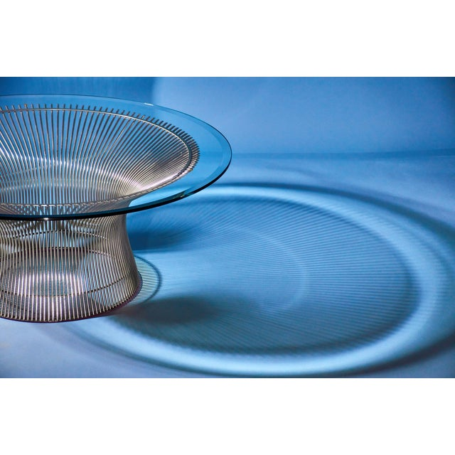 Mid-Century Modern Warren Platner Coffee Table Manufactured by Knoll For Sale - Image 3 of 8