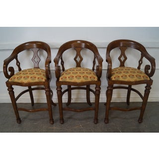 Minton Spidell Empire Style Burgess Barstools - Set of 3 Preview