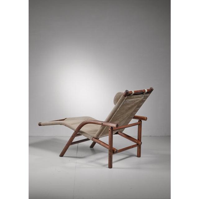 Artek Ben af Schulten lounge chair, Finland, 1970s For Sale - Image 4 of 5