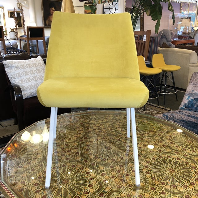 Yellow New Lola Accent Chair by Triva Furniture For Sale - Image 8 of 8