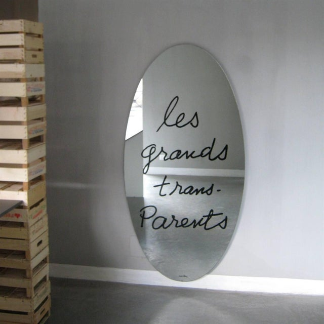 """Man Ray """"Les Grands Trans-Parents"""" Mirror by Man Ray 