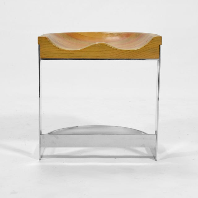 Warren Bacon Low Stool For Sale - Image 4 of 10