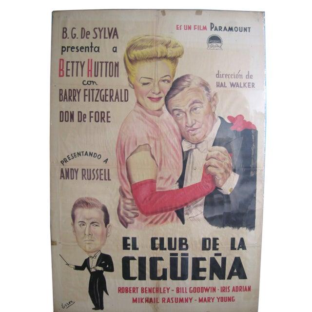 Vintage El Club Movie Poster For Sale