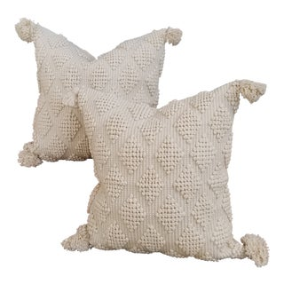 Cotton Moroccan Wedding Quilt Pillow Pair