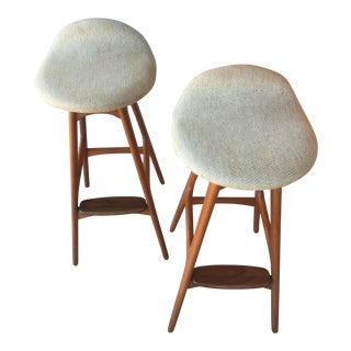 Erik Buch Bar Stools - a Pair
