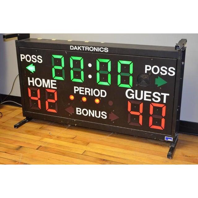 Daktronics Electronic Basketball Scoreboard