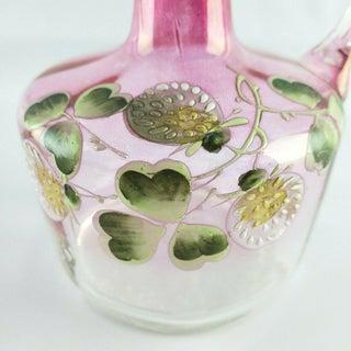 Early 20th Century Victorian Enameled Rubina Glass Cruet Preview