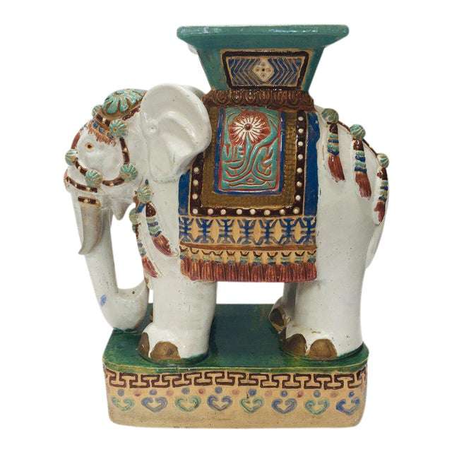 Amazing Chinese Hollywood Regency Ceramic Elephant Garden Stool Unemploymentrelief Wooden Chair Designs For Living Room Unemploymentrelieforg