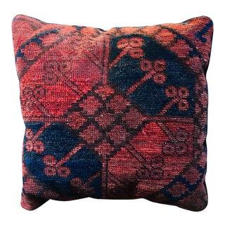 Antique Kilim Rug Pillow For Sale