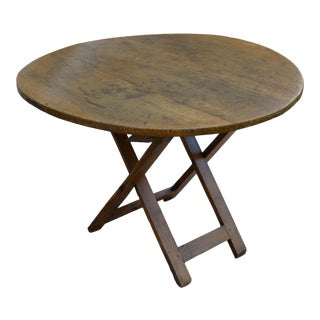 Antique French Pine Vendange Table For Sale