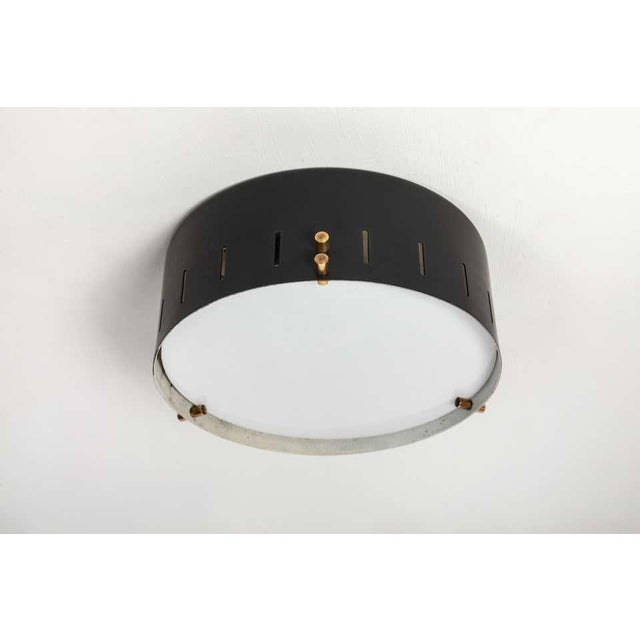 Metal 1960s Bruno Gatta Wall or Ceiling Light for Stilnovo For Sale - Image 7 of 9