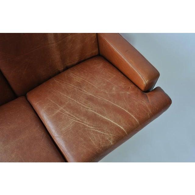 Fredrik Kayser Leather and Rosewood Sofa - Image 8 of 8