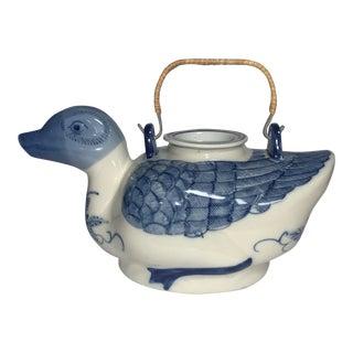 Antique Chinese Duck Tea Pot For Sale