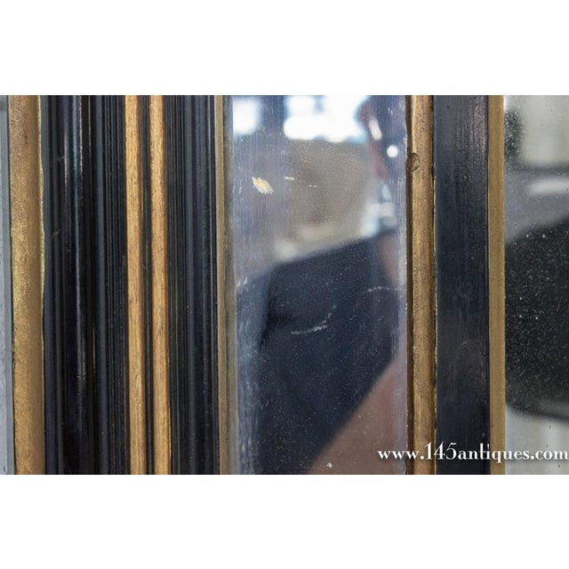 Giltwood French Napoleon III Mirror For Sale - Image 7 of 11