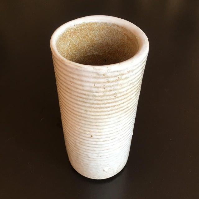 Mid-Century Hand Thrown Ceramic Vase For Sale In Washington DC - Image 6 of 6
