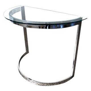 Milo Baughman Chrome Table Frame For Sale