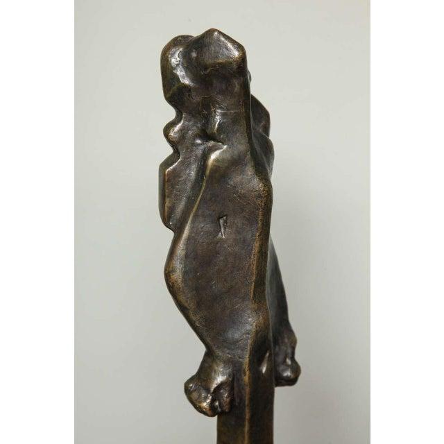 "Bronze ""L'Esperance"" Cubist Bronze by Joseph Csaky For Sale - Image 7 of 9"