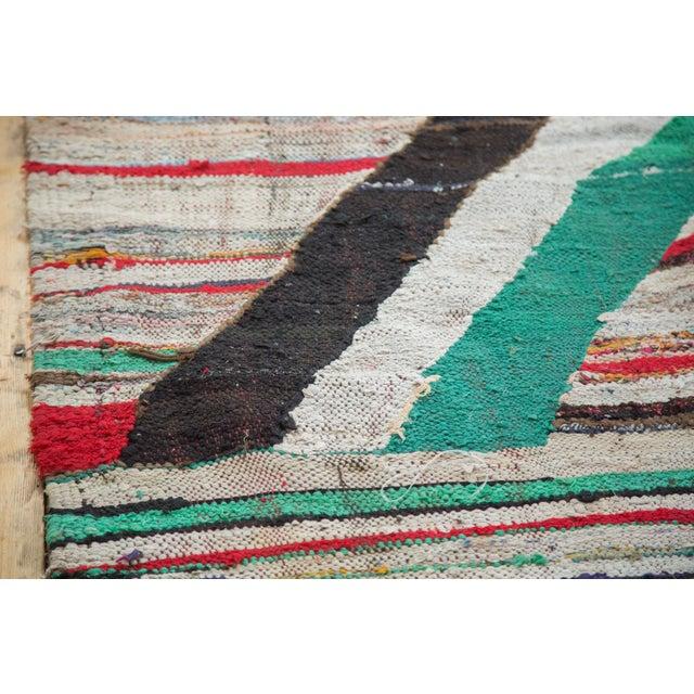 "Vintage Rag Rug Carpet - 5'1"" X 8' - Image 3 of 9"