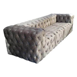"Custom to Order ""Modern Tufting"" Collection Sofa"