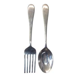 Large Scale Pop Art Fork & Spoon