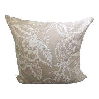 Custom Schumacher Maracanda Vine Pillow Cover For Sale