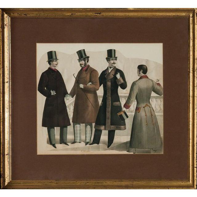 Four Edwardian Gentlemen For Sale