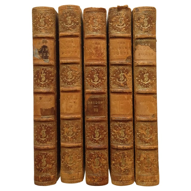 The Poetical Works of John Dryden - 5 Volumes - Image 1 of 8