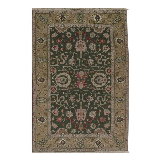 Soumak Design Hand Woven Wool Rug - 8' X 10' For Sale