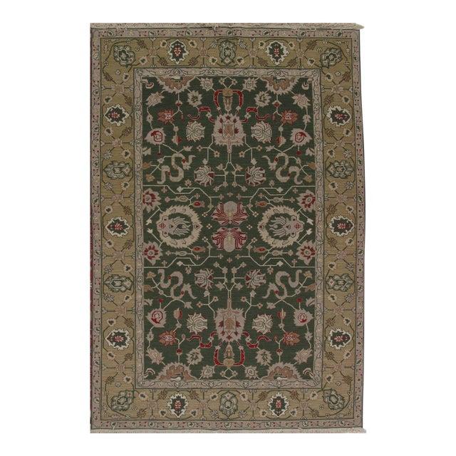 Soumak Design Hand Woven Wool Rug - 8' X 10' - Image 1 of 5