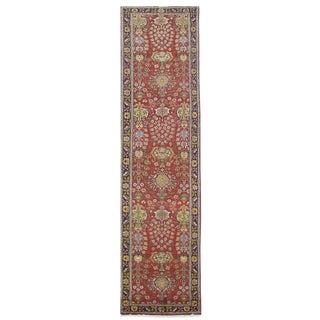 Vintage Persian Tabriz Rug - 3′2″ × 15′10″ For Sale