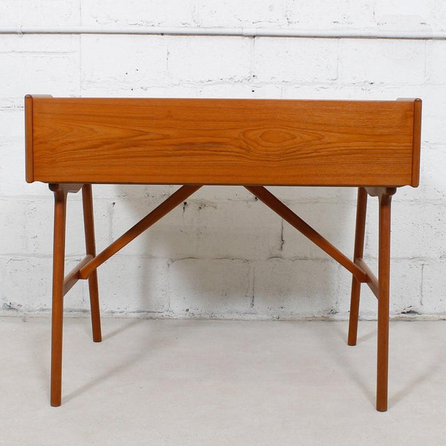 Iversen Danish Teak Writing Desk - Image 6 of 8