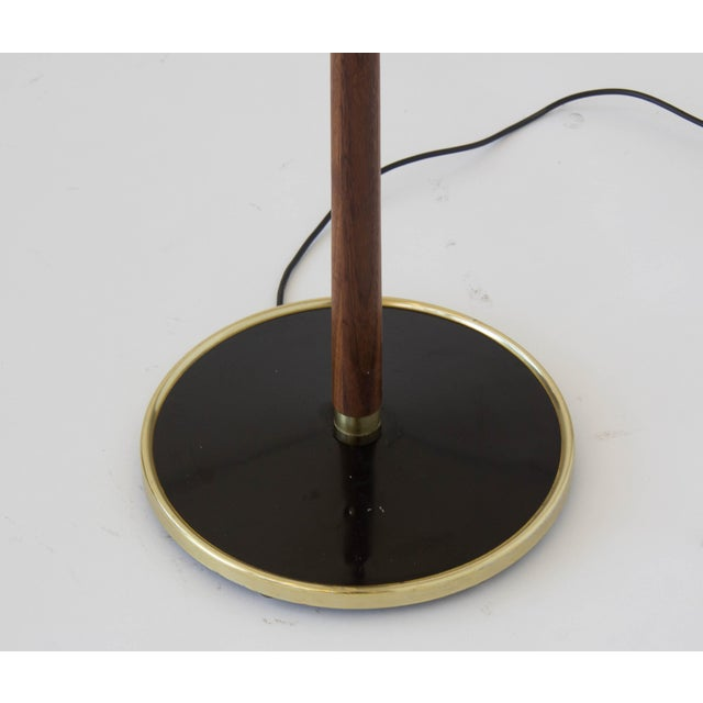 Three-Shade Floor Lamp by Gerald Thurston Lightolier For Sale - Image 11 of 11