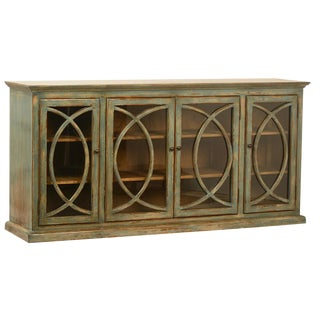 Deco Glass Door Sideboard