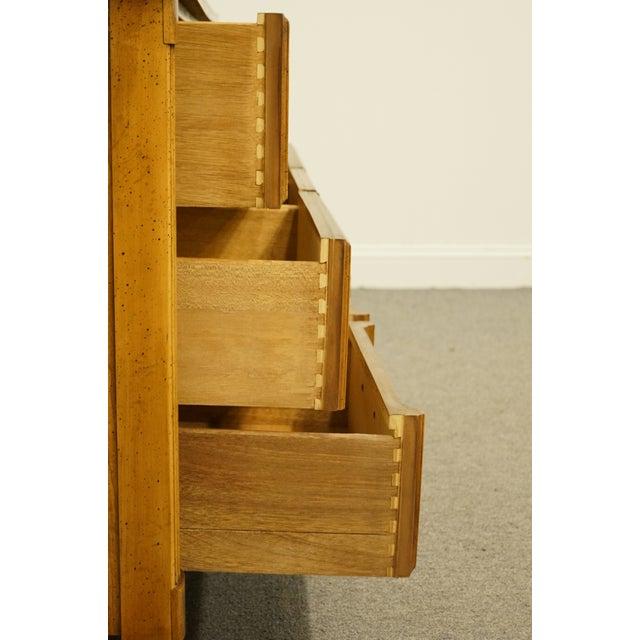 "Wood 20th Century Italian Dixie Furniture 64"" Triple Dresser For Sale - Image 7 of 13"