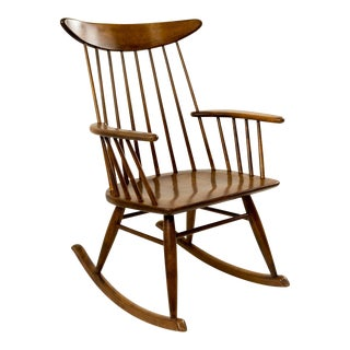 Russel Wright for Conant Ball Mid-Century Rocking Chair