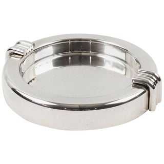 Christian Dior Mid-Century Silver Plate Cigar Ashtray