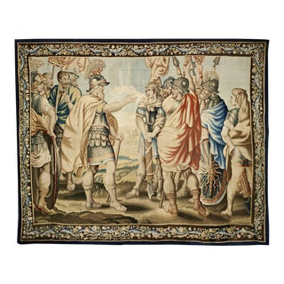17th-Century Belgian Tapestry For Sale
