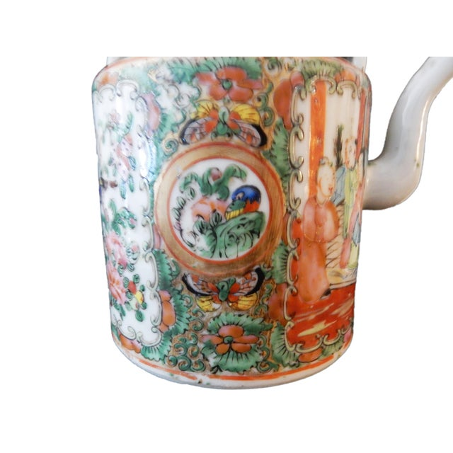 Rose Medallion Teapot - Famille Rose - Rose Canton - c. 1900 - Image 6 of 8
